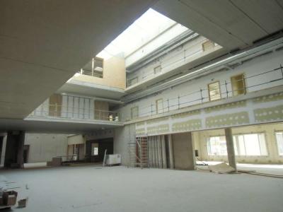 Le hall intérieur